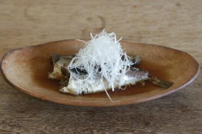 いわしの生姜煮