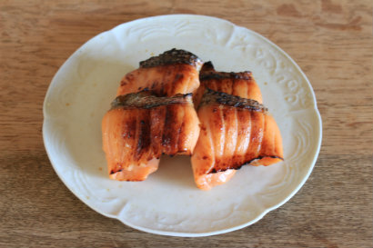 うみますの味噌柚庵焼き